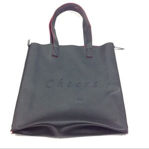 New Crabtree & Evelyn Expandable Saffiano Tote Bag